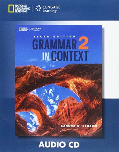 Grammar in Context 2: Audio CD (Grammar in Context, Sixth Edition)