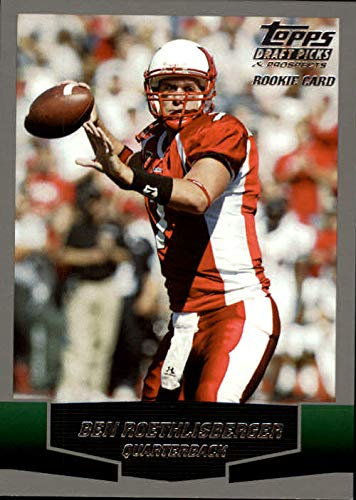 2004 Topps Draft Picks and Prospects #165 Ben Roethlisberger RC - Miami Ohio/Pittsburgh Steelers ()
