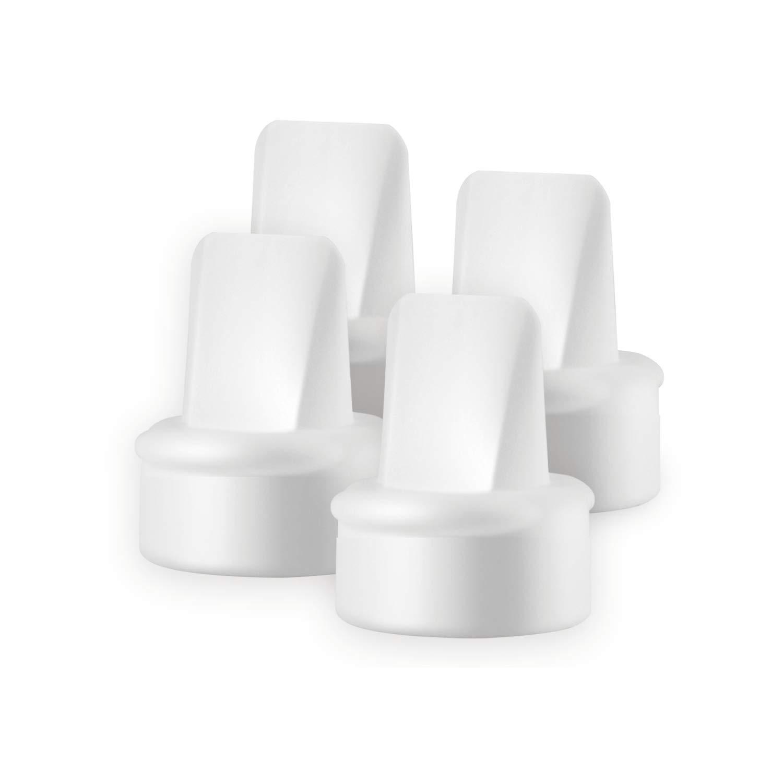 Lansinoh Breast Pump Valves, 4 White Duckbill Valves