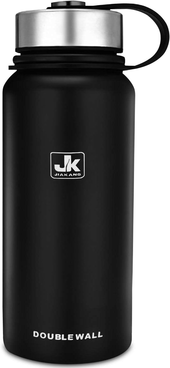 CX&LL Botella Agua Termo Acero Inoxidable 800ml - Sin BPA Free, Antigoteo y Prueba de Fugas - Frasco térmico, Cantimplora Aislada