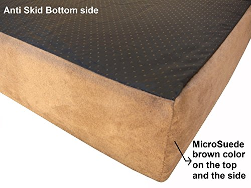 Dogbed4less SC External Replacement cover for Medium Large 45″X27″X3″ Microfiber MicroSuede pet bed – Replacement cover only For Sale