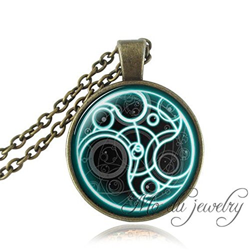Doctor Who Tardis Pocket Watch Necklace