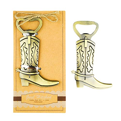 - Pack of 20 Retro Style Cowboy Boots Beer Bottle Opener Wedding Favors,Party Favors for Guest Souvenir Gift for Baby Shower Birthday Party Decorations and Supplies by JSSHI (Boots Style)
