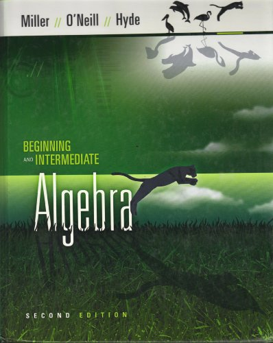 Intermediate Algebra -- Second 2nd Edition, Annotated Instructor's Edition