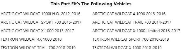 Ryco Enduro Lighting Kit ARCTIC CAT WILDCAT 1000i H.O.