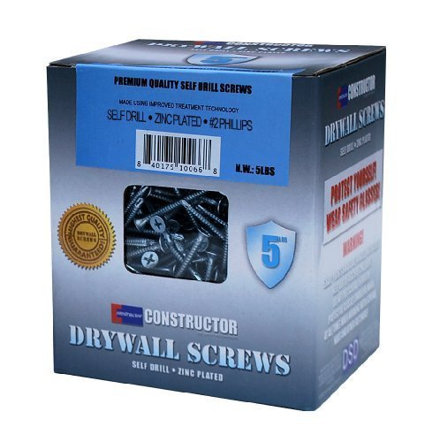 "Constructor CON-SD-7x1-7-8-5L 5 lb. Self Drill Screws, 7 x 17/8"" by DSD Trading Corp PCA"