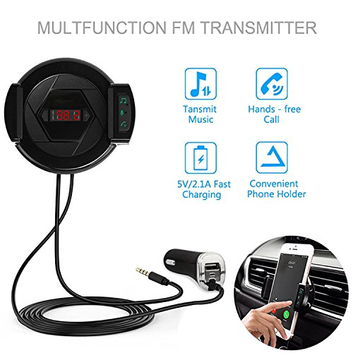 Transmitter car kit with charger