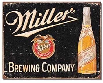 Metal Tin Sign miller high life  Decor Bar Pub Home Vintage Retro