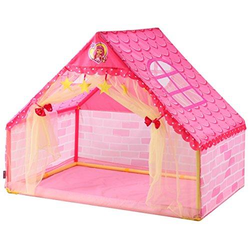 心配するロケーション宇宙のLIAN 子供遊びテントDIYゲームルームプラスチックおもちゃの部屋屋内大宇宙赤ん坊のギフト(ピンク106 * 133 * 90.5cmパッキングの1)
