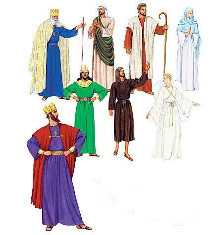 MCCAL (Shepherds Costume Nativity)