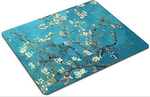 MSD Mouse Pad vincent van gogh branches with almond blossom 1890 Customized Desktop Laptop Gaming Mousepads