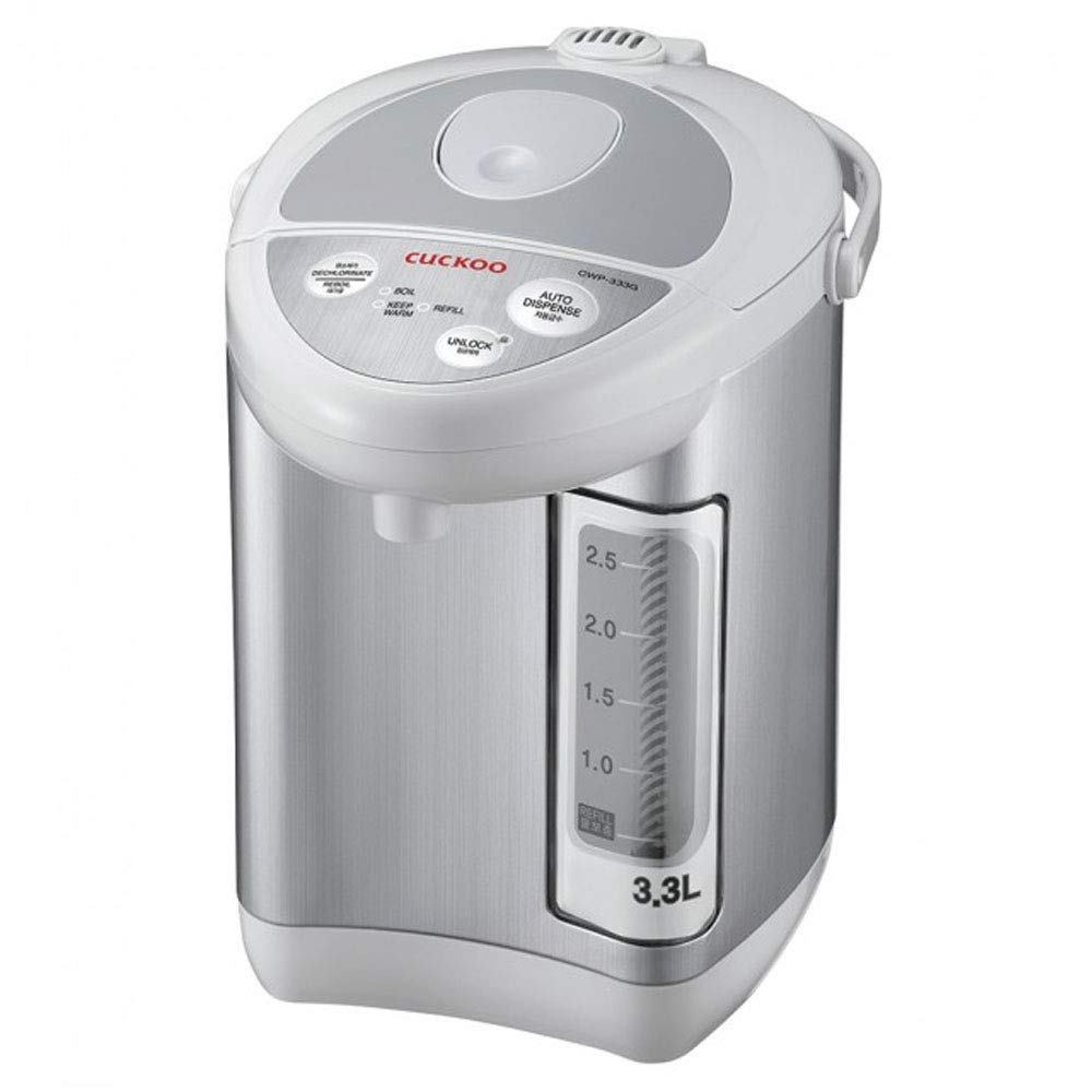 Cuckoo CWP-333G Auto Water Dispenser, 11.6 x 12.4 x 8.7 inches, Gray by Cuckoo