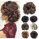 Hair Bun Hairpieces Scrunchies Donut Hair Extensions Synthetic Fiber Hair Messy Bun Chignons