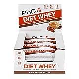 PhD Diet Whey Bar Chocolate & Peanut Butter 12 Bars x 65g