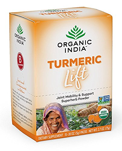 Organic India Turmeric Lift packets