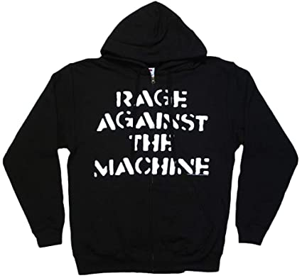 NEW /& OFFICIAL! Rage Against The Machine /'Large Fist/' Zip Up Hoodie
