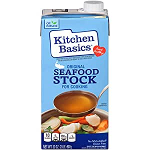 Kitchen Basics Original Seafood Stock, 32 oz (Case of 12)