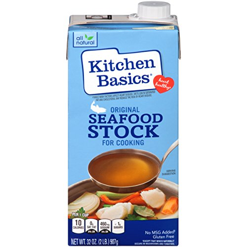 - Kitchen Basics Original Seafood Stock, 32 Fl Oz, Pack of 12