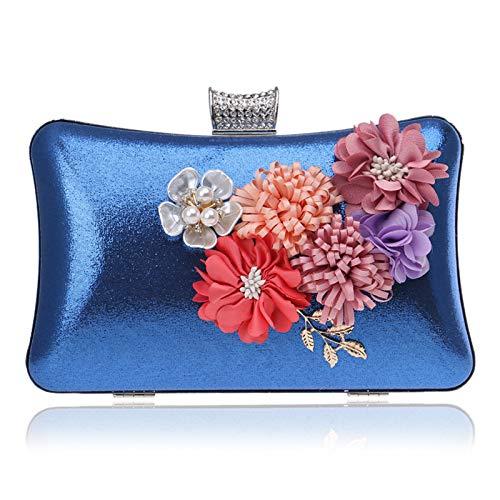 Dresses Banquet Evening Handbags Bags Fashion Blue Women's GROSSARTIG Bags wxSqtt