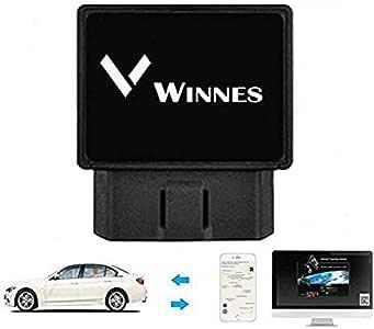 Winnes Localizador GPS Dispositivo Rastreador GPS OBD2 GPS Tracker Tiempo Real Alarma de Movimiento de Geovalla Antirrobo Alarma de Exceso de Velocidad App Gratuita Compatible con iOS y Android TK816: Amazon.es: Electrónica
