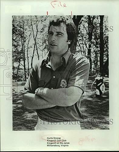 Press Photo Golfer Curtis Strange at Kingsmill on the James, Williamsburg, Va.
