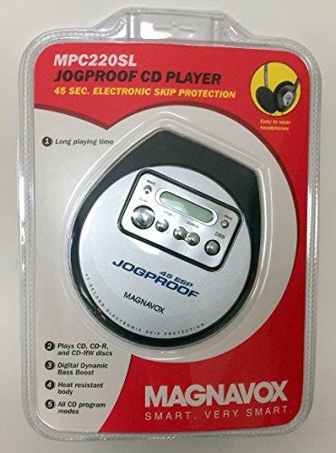 Magnavox Jogproof CD Player (MPC220SL) by Magnvox