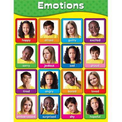 Emotions Chart [Set of 3] ()