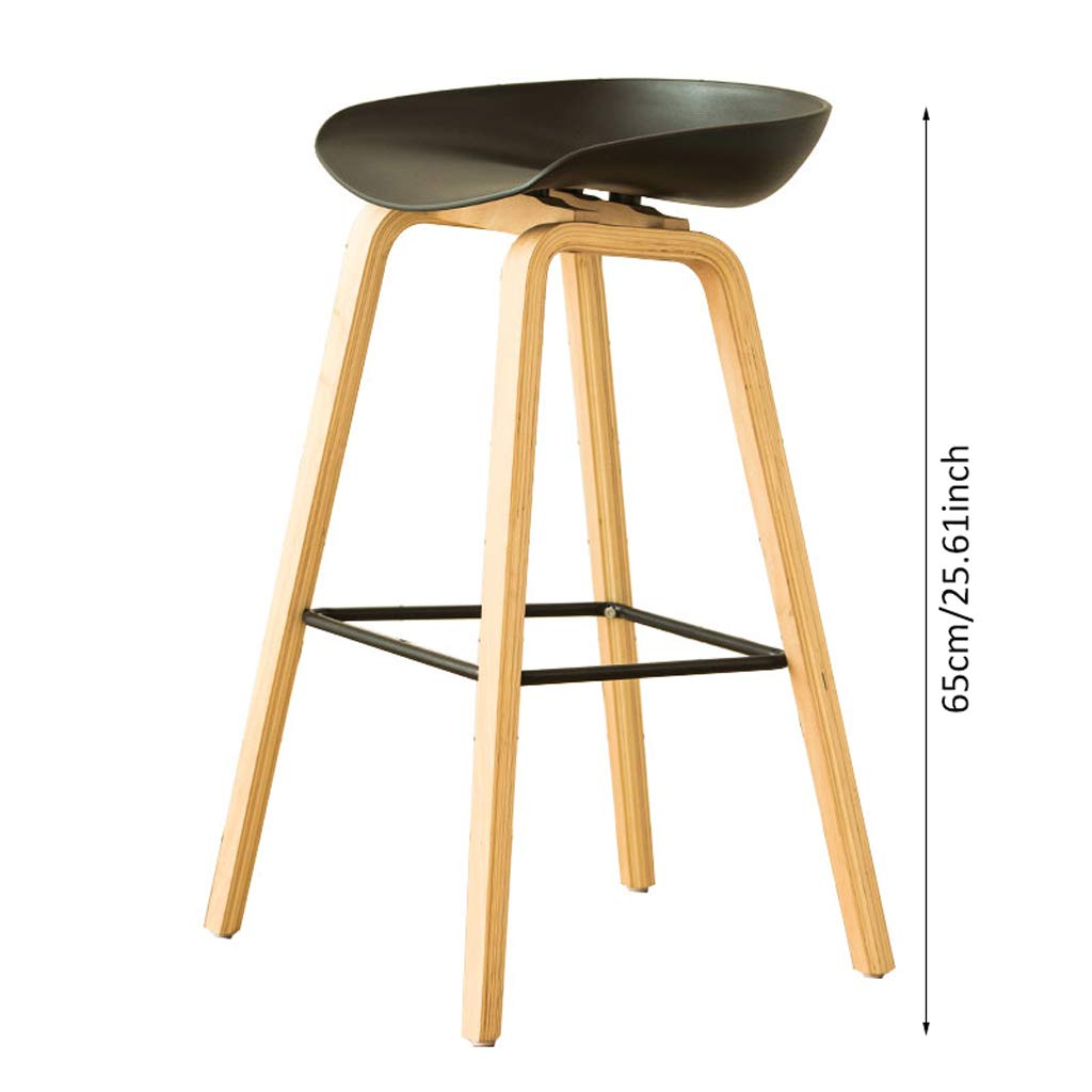 Amazon.com: Nordic Style Bar Chair, Bar Stools Counter Chair Kitchen ...
