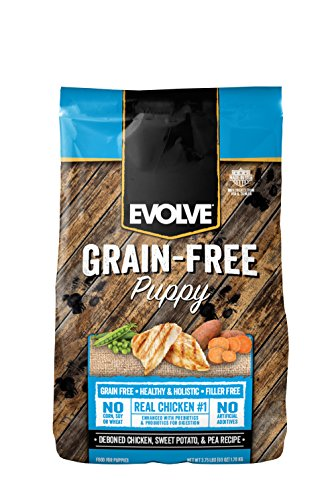 14lb Evolve Puppy Grain Free Deboned Chicken, Sweet Potato and Pea Recipe