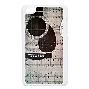 Custom Your Own Personalized Music Ipod Touch 4 Case, Snap On Hard Protective Guitar Ipod 4 Case Cover
