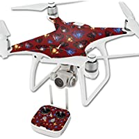 Skin For DJI Phantom 4 Quadcopter Drone – Diamond Galaxy | MightySkins Protective, Durable, and Unique Vinyl Decal wrap cover | Easy To Apply, Remove, and Change Styles | Made in the USA