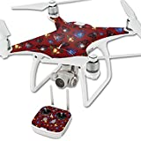 MightySkins Skin for DJI Phantom 4 Quadcopter Drone – Diamond Galaxy | Protective, Durable, and Unique Vinyl Decal wrap Cover | Easy to Apply, Remove, and Change Styles | Made in The USA