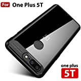 MOBISTYLE ULTRA THIN SHOCK PROOF Original Autofocus Back Cover Case For one plus 5t / OnePlus 5T (Black)