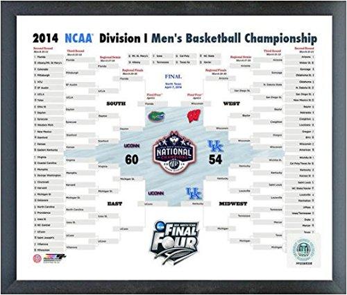 Mens Husky Basketball - University of Connecticut Huskies 2014 NCAA Men's College Basketball National Champions Composite Photo (Size: 12
