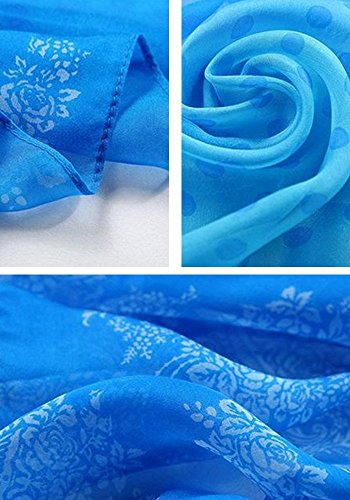 Multicolor Spring All Engravings Scarf For Fresh 20 Woman Fashion Scarf 15 Silk Elegant Colors Long 5 Rxv87R