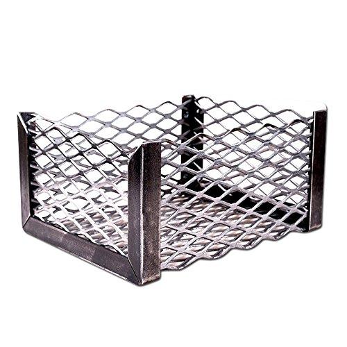 LavaLock Brinkmann Trailmaster Char Coal Basket - Vertical or Horizontal (fire box basket) by BBQsmokerMods (Outdoor Basket Fire)