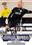 Kasey Keller autographed trading card (Soccer Football USA Seattle Sounders MLS) 2011 Upper Deck World Sports #224
