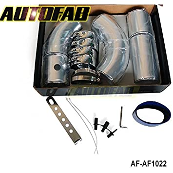 "lesilverskys (TM) autofab – 3 ""Universal Aluminio Filtro de Aire Turbo Intercooler"