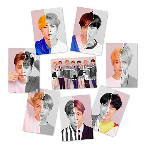 AhlsenL Kpop Bangtan Boys BTS Love Yourself Poster 8 Sheets (L-Ver. [Answer])