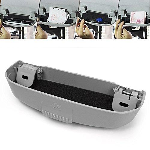 Itimo universel de voiture étui à lunettes Boîte de support pour Mitsubishi Pajero V73Soveran Galant Lioncel ASX Rvr Car Styling (Gray)