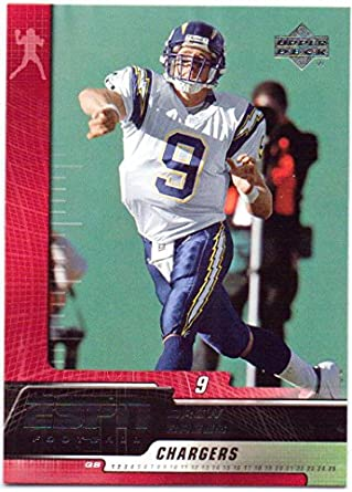 various colors e2d33 8135a Drew Brees 2005 UD ESPN #80 - San Diego Chargers at Amazon's ...