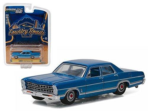 1967 Ford Galaxie 500 Acapulco Blue