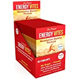 Energy Vites Amino Energy Drink Mix | L Tyrosine, B-12 Vitamin, Inositol, Mineral Powder | Pre Workout Supplement Powder | 30 packets | Dr. Price's Vitamins | No Sugar Vegetarian Non-GMO Gluten-Free