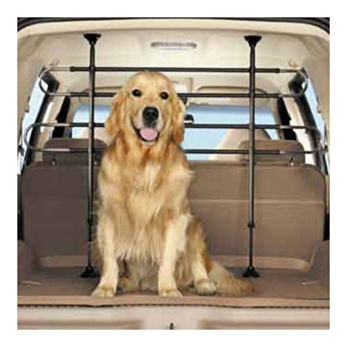 (Fence Pet Dog Cages Car Black Vehicle Divider Barrier Seat Truck SUV US Stock)