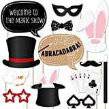 Magic - Party Photo Booth Props Kit - 20 Count