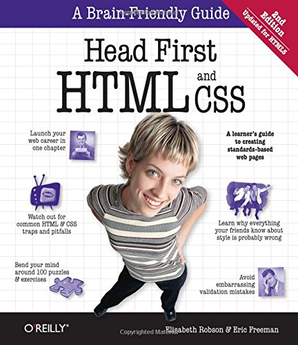 Head First HTML and CSS: A Learner's Guide to Creating Standards-Based Web - Robson Shops On