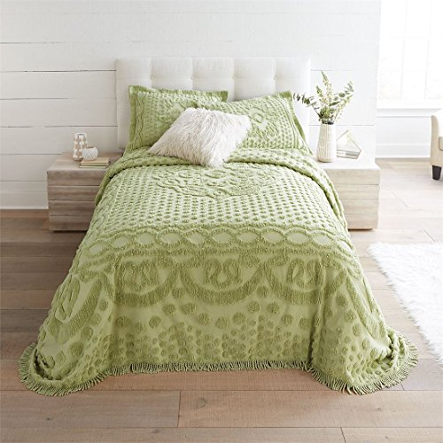 Brylanehome Georgia Cotton Throw Bedspread (Pear,Full)