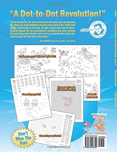 The Greatest Dot-to-Dot Super Challenge Book 5 (Greatest Dot to ...