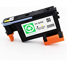ESTON 1 PACK 940 Printhead Replacement for 940 Print Head C4900A For Officejet Pro 8000 8500 8500A 8500A Plus 8500A Premium (Black/Yellow)