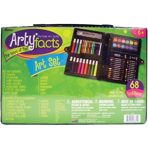 Darice 1103 22 68 Piece Art Set